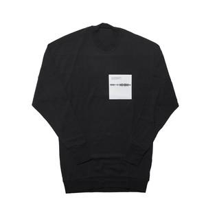 677CPM16-BLACK / SHAPEDNOISE ロングスリーヴTシャツ