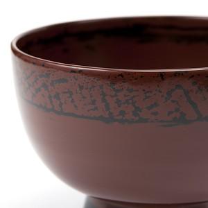 宮原楓翠 根来塗大椀 Negoro Lacquerware bowl (negoronuri-owan)by Fusui Miyahara