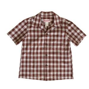 レディース&ボーイズ / オリジナル パラカシャツ  / ブラウン / 残り1枚