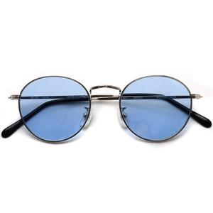 BOSTON CLUB ボストンクラブ / WESTONSun / 01Silver - Blue Lenses シルバー-ライトブルーレンズサングラス   ボストン ラウンド