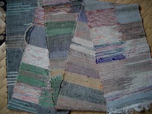半巾帯 裂き織