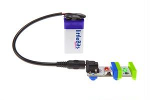 littleBits BATTERY + CABLE リトルビッツ バッテリー+ケーブル【国内正規品】