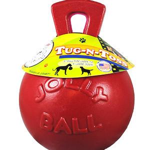 Jolly Pets Tug N Toss 取手つきジョリーボール 6inch