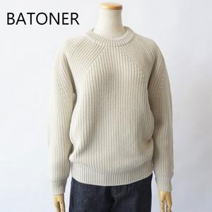 BATONER /バトナー・Signature Crew Neck
