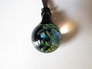 【玉響glass】ガラスネックレス LP17-15
