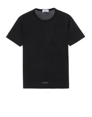 STONE ISLAND Zip Pocket T-shirt V0029 NERO/ BLACK 721520358