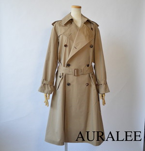 AURALEE/オーラリー ・FINX POLYESTER BIG TRENCH COAT