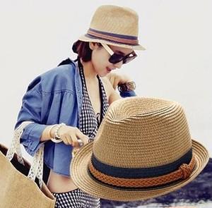 麦わら帽子 レディース 折りたたみ 可 ひも付き 中折れ ストローハット 紫外線対策 春 夏 yuab059