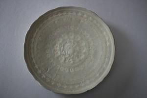 マルヤマウエア|三島平皿7寸E