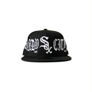 Exile World Custom New Era Chicago White Sox Windy City Fitted (JUGE Exclusive)