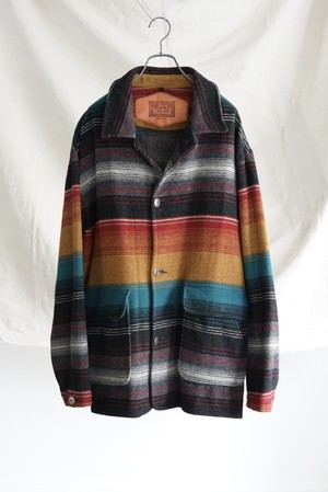 <SOLD OUT >Woolrich - Blanket Jacket made in USA