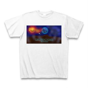 「火星から見た地球接近」Tシャツ