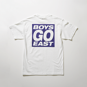 """BOYS, GO EAST"" Logo Tee"
