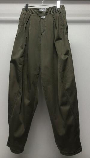 1980s MARITHE FRANCOIS GIRBAUD FLUID PANTS