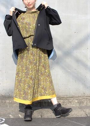 イペカ アマラ 小花フラワープリントスカート/カーキ No.98774712/42