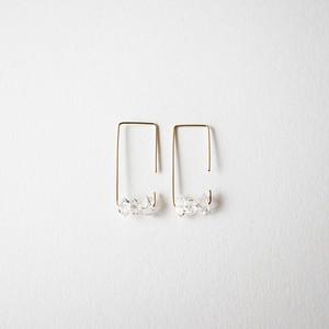Herkimer diamond pierce