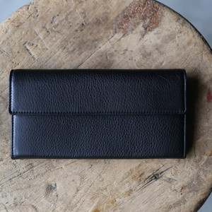 TOMO NARIAI for UNIVERSAL PRODUCTS / LONG WALLET [BLACK]