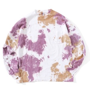 IFNi COFFEE DYE L/S T-SHIRT [ PURPLE ]