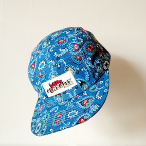 """Lady Gonzalez"" paisley & eyes 5 panel cap"