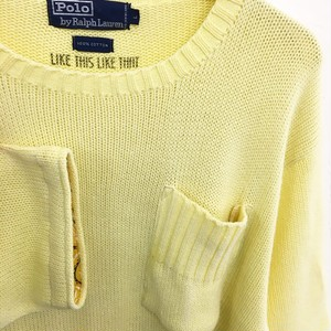 LIKE THIS LIKE THAT : 「Polo by Ralph Lauren」s/s cotton knit (remake)