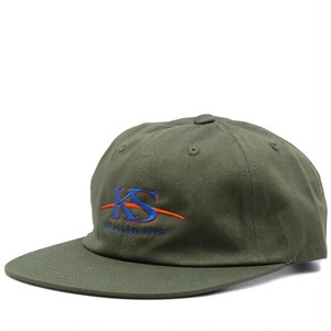 KS 6PANEL CAP(OLIVE)