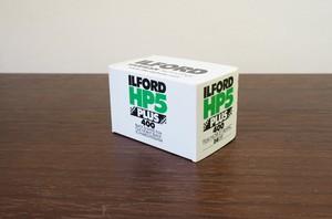 【モノクロネガフィルム 35mm】ILFORD(イルフォード) HP5 PLUS 400 36枚撮り