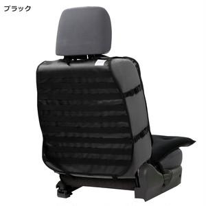 【HykeToA2】カスタムシートカバー(ターポリン) Wクッション付き / ブラック(79017)