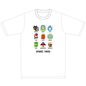 "PEGA-PEGA  8bit T-shirt ""百鬼夜行"""