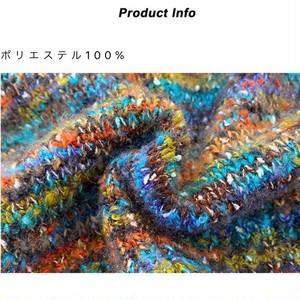 MIXヤーン半袖クロップドニット LUM9205