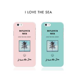 【ハードケース】I LOVE THE SEA