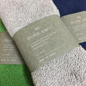 (再入荷)綿由来の天然炭素繊維を靴下の産地奈良県の工場で編んだパイル地ソックス
