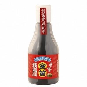 笛木醤油 金笛 減塩醤油ボトル 200ml