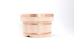 岡田製樽のおひつ・定番(銅タガ 5合)