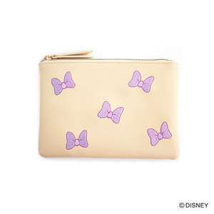 DISNEY/RIBBON MINI POUCH/YY-D018 BE