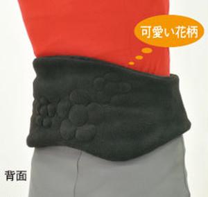 bonbone 発熱ウォーマー 腰用 ブラック