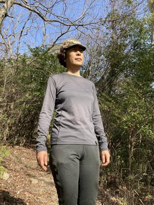 Teton Bros. / Women's Axio Lite Long Sleeve / gray,navy,black,olive / S,M,L / 13,200 yen