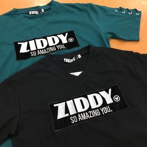 ZIDDY 1235-86016 袖編み上Tシャツ