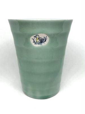 青磁かいつぶり ジュースカップ