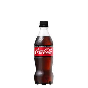 [メーカー直送] コカ・コーラゼロシュガー 500mlPET [送料無料]