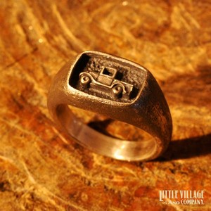 """Model """"A"""" Ring / Silver 925"""