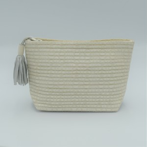 "Atelier Nihal / FLAT BAG ""Size S / Pearly white"""