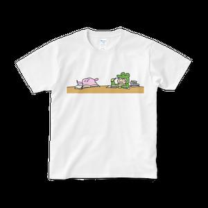 Study Tシャツ (白)