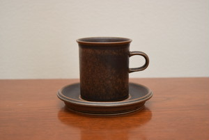 アラビアルスカコーヒーカップ&ソーサー⑤【ARABIA/Ruska】北欧 食器・雑貨 ヴィンテージ | ALKU