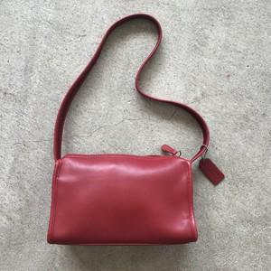 OLD COACH赤ショルダー バッグ
