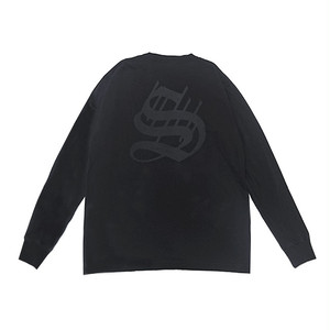 scar /////// BIG 7/ OE L/S TEE (Black)