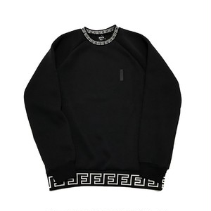 FULL-BK - F RIB CREW NECK (BLACK)-