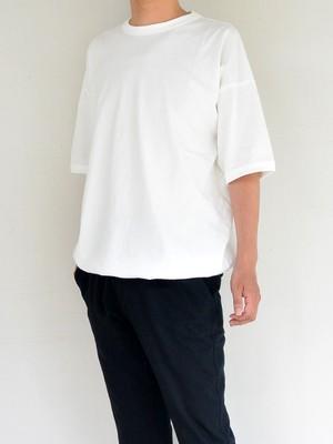 Jackman ジャックマン Himo T-Shirt【White】