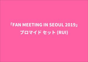 「FAN MEETING IN SEOUL 2019」ブロマイド セット(RUI)