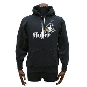 Flutter Pullover Hoodie charcoal PH-01