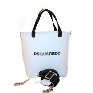 ディースクエアード ( DSQUARED2 )  ハンドバッグ ホワイト